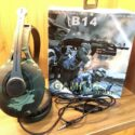 B14 P4 /P3/XBOX/ GAMING HEADSET CAMOUFLAGE GREEN